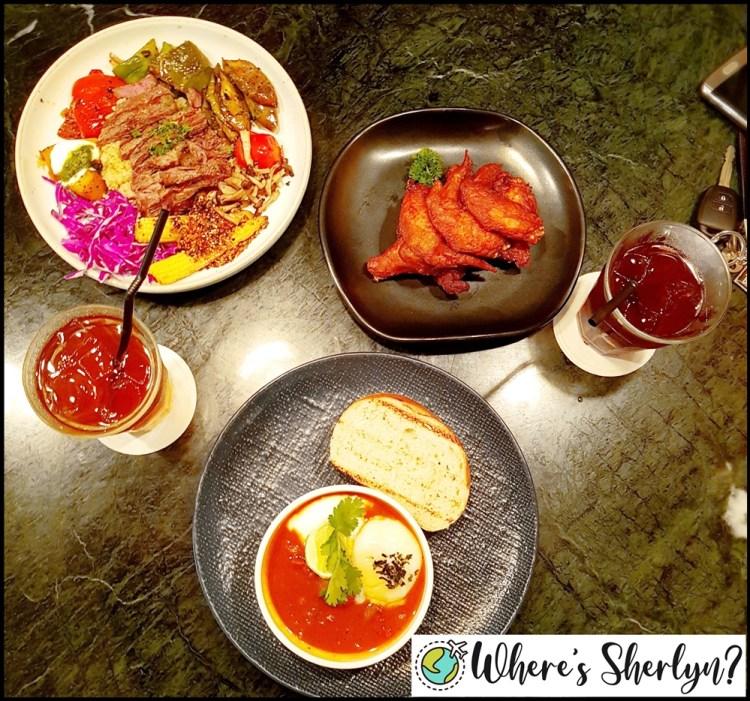 Brunei Restaurants: Our yummy dinner at Alter Ego Fusion, my favorite restaurant in Brunei