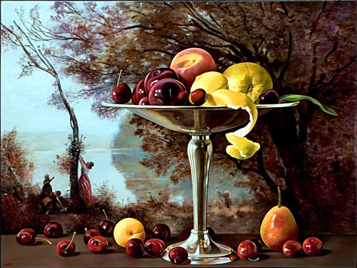Fruit Bowl with Montefontaine