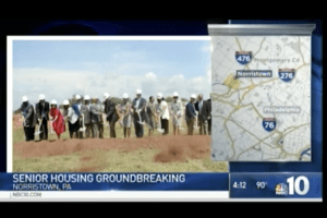Tony Sherr Takes Part in Groundbreaking Ceremony