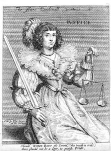 A woman with some weighing scales, representing justice. (Wikimedia/Creative Commons 4.0/from Wellcome Images, a website operated by Wellcome Trust, a global charitable foundation based in the U.K.)