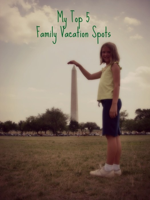 top 5 family vacation spots