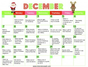 Welcome to the 25 Days of Christmas!