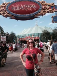 Dumbo the Flying Elephant & the Disney Social Media Moms Celebration