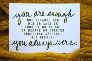 December 16: Enough