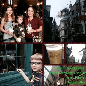 Diagon Alley at Wizarding World of Harry Potter Universal Studios