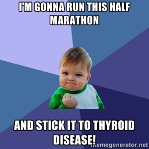 Running for a Cause: Fighting Thyroid Disease