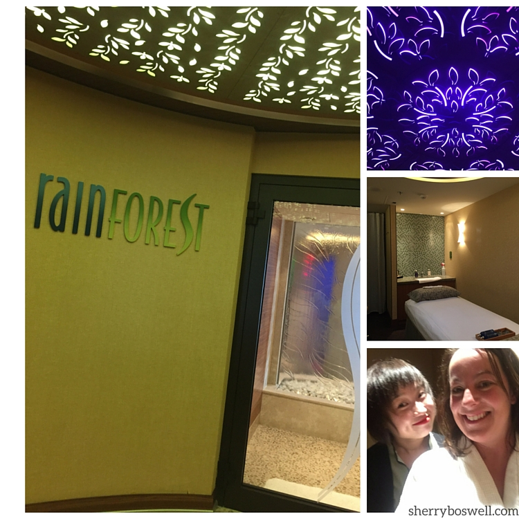 Disney Cruise advice | On the Disney Fantasy, grab a spa treatment or Rain Forest pass at Senses Spa.