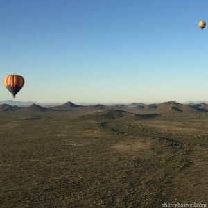 Ballooning in Arizona with Hot Air Expeditions