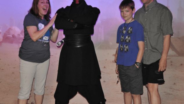 Darth Maul is all work and no play!