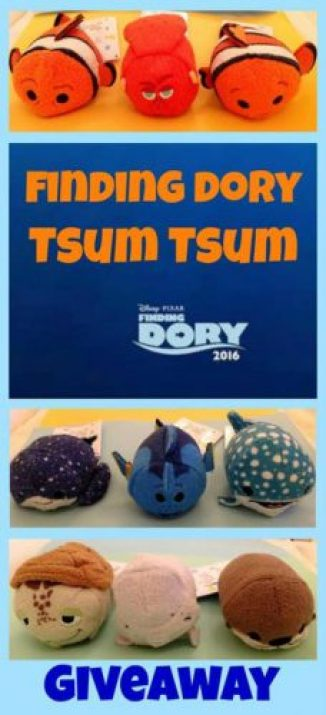 Finding Dory giveaway tsum tsum