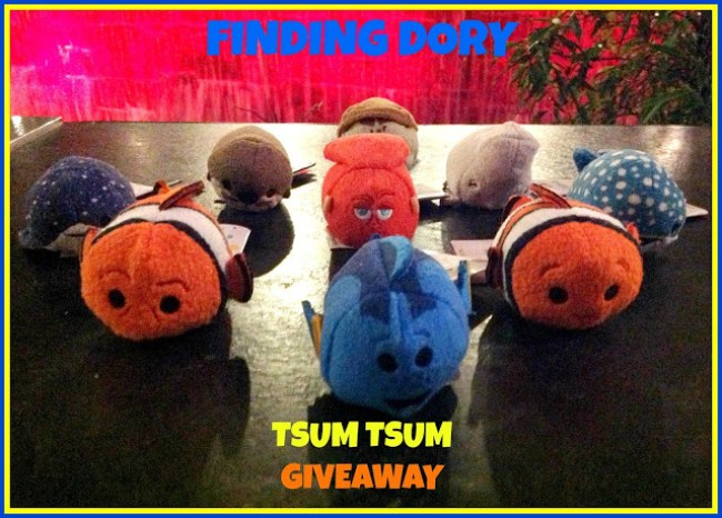 Finding Dory Tsum Tsum Giveaway