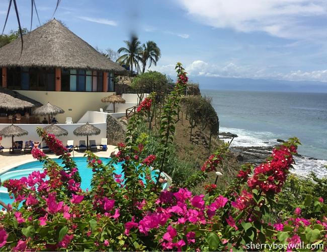 Puerto Vallarta Resort Gem   the Grand Palladium Vallarta pool and beach view makes me want to stay longer in Mexico