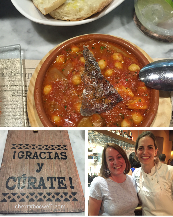 10 things to do in Asheville | Curate tapas restaurant collage of food and executive chef Katie Button
