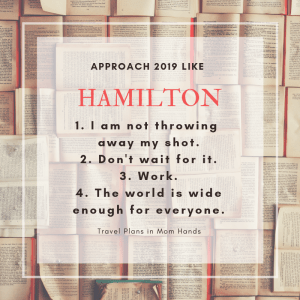 Making New Year's Resolutions Hamilton Style