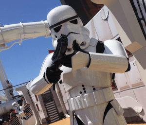 Star Wars Disney Cruise | Stormtroopers abound on the Star Wars Day at Sea.