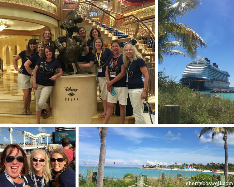 Disney cruise for adults: 8 Pointers to make it fabulous | best freinds grow even closer on a Disney cruise, especially when it stops at Castaway Cay.