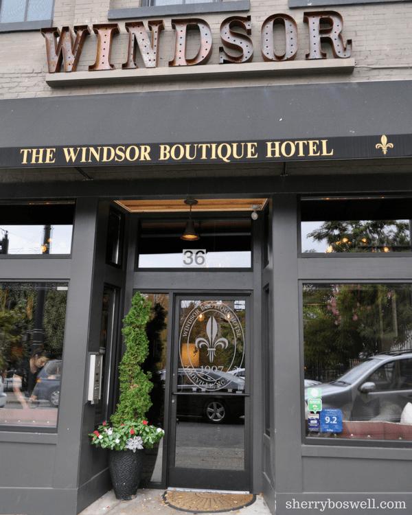 Windsor entrance