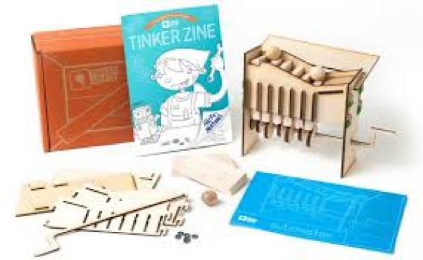 TinkerCrate by KiwiCo is one of the best Subscription Boxes for kids and makes a fabulous gift for the holidays.