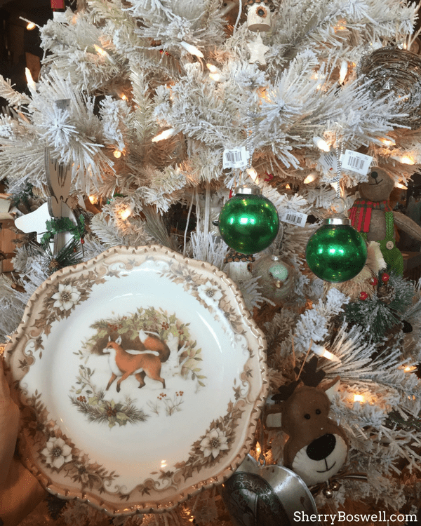 bringing joy to the table with cracker barrel is easy thanks to the woodland plate - Cracker Barrel Store Christmas Decorations