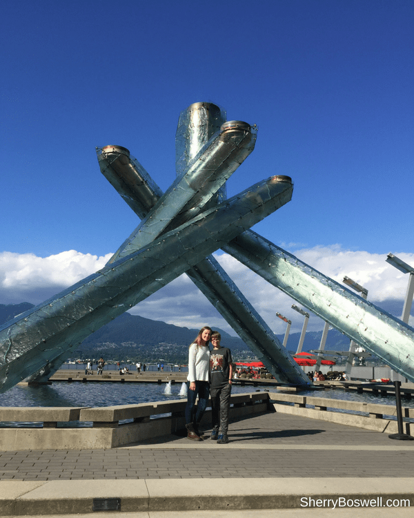 18 Travel Destinations in 2018 | Vancouver amazes with this Olympic Cauldron statue at the harbor.