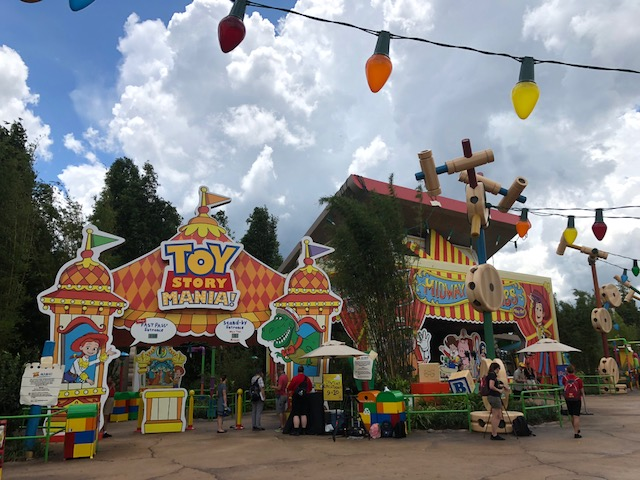 Toy Story Land tip: new entrance to Toy Story Mania is now inside Toy Story Land!