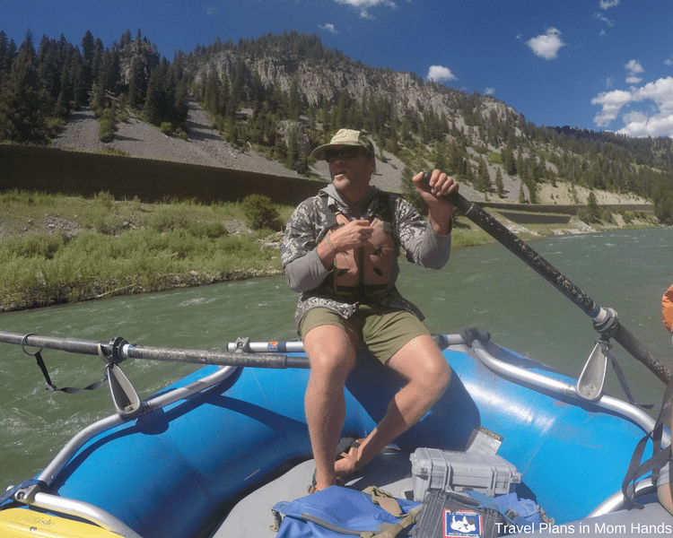 We were in good hands with our river guide Austin. Such a thrill ride which makes whitewater rafting one of the best things to do in Jackson Hole