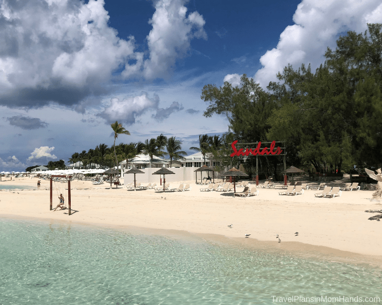 Sandals Royal Bahamian has a Sandals Island with ferry service-more places to play and relax.