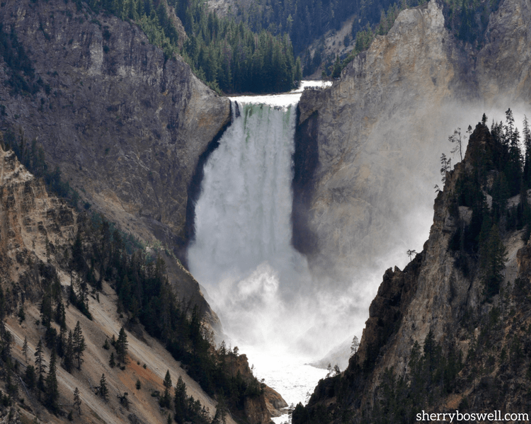 Do NOT miss the Grand Canyon of Yellowstone National park, whether from the Artist Point access or making the ambitious hike down to see it up close at the Lower Falls.