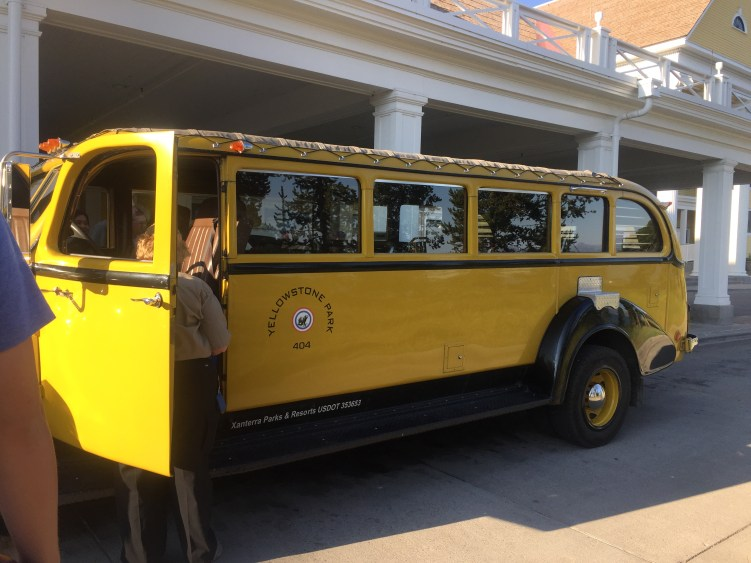 While planning a trip to Yellowstone national park, let Yellowstone do the driving for you on one of the guided tours on the Historic Yellow Bus.