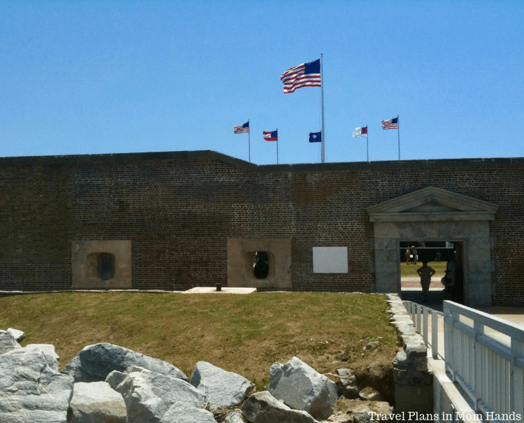Fort Sumter, the starting point for the American Civil War, is a must see for history buffs in Charleston, SC.