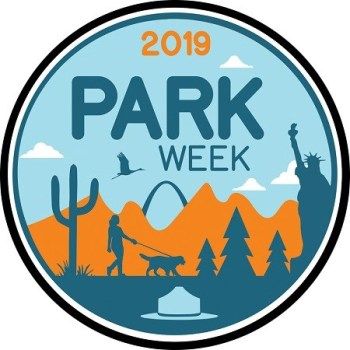 National Park Week 2019 logo inspires travelers to get out and explore all the parks across the country.