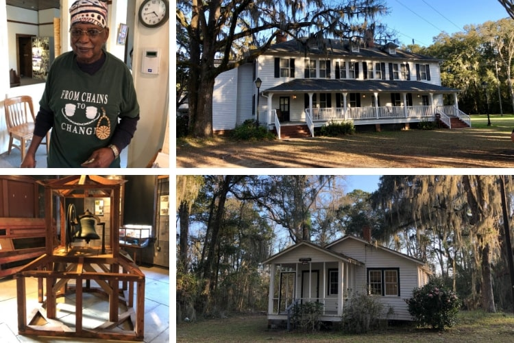 Learning about Gullah culture at the Penn Center during our 24 hours in blissful Beaufort, SC