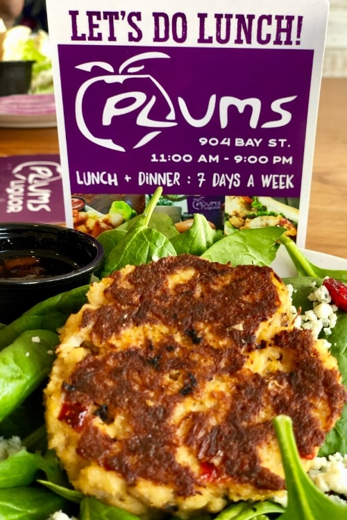 24 hours in blissful Beaufort SC made even more so after my crab cake salad lunch at Plums restaurant.