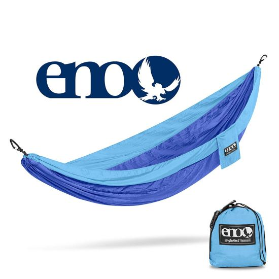 The hot ticket item at my kids summer camp: the Eno personal hammock.