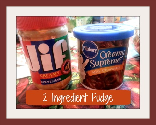 2 Ingredient Fudge