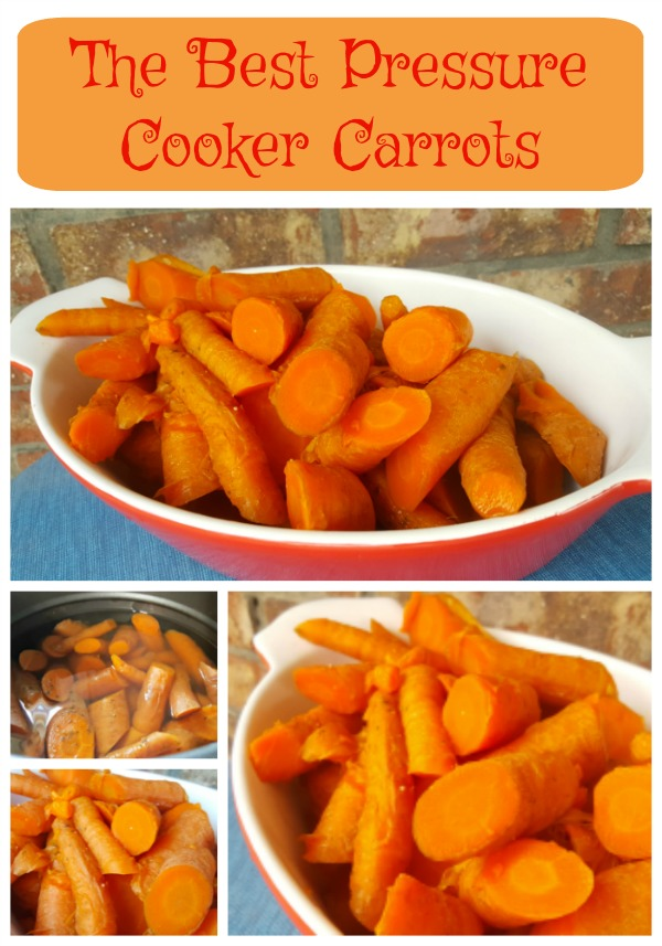 The Best Pressure Cooker Carrots