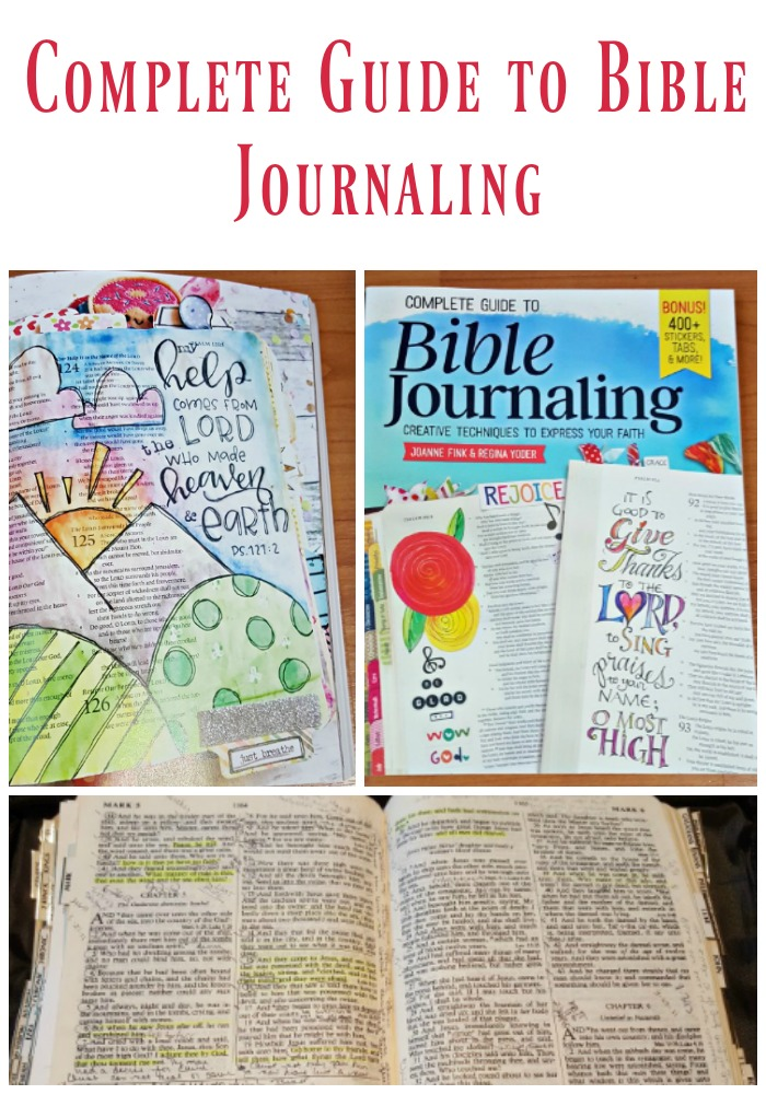 Bible Journaling Guide