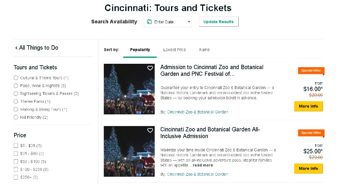 Find Things to Do with Trip Advisor