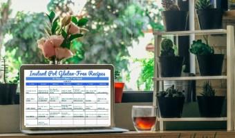 30 Days Instant Pot Gluten Recipes