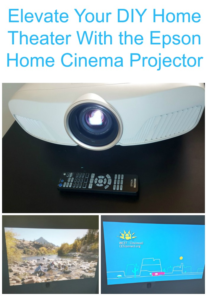 Elevate Your DIY Home Theater With the Epson Home Cinema Projector