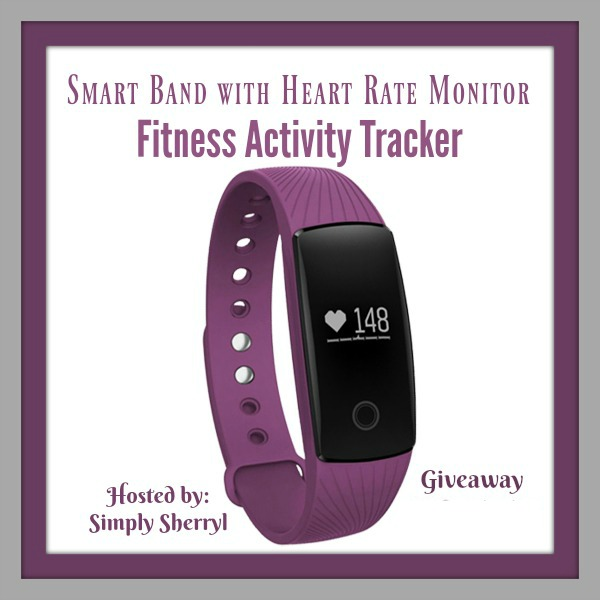 January Giveaway Smart Band Activity Tracker
