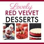 20 Lovely Red Velvet Desserts