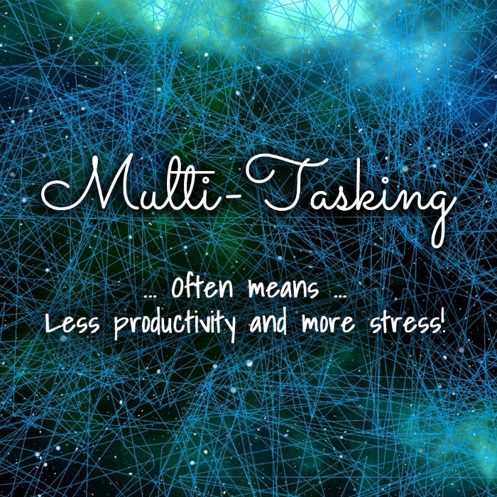 Multi-Tasking and Your Mental Health