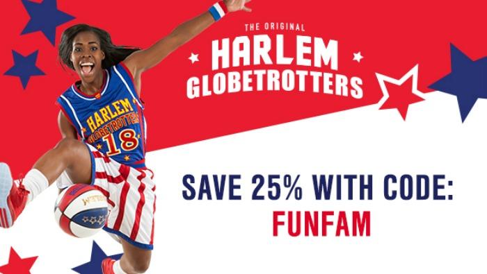 Harlem Globetrotters Fan Powered World Tour