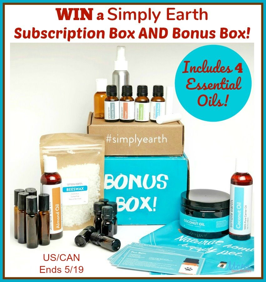 Win a Simply Earth Subscription Box AND Bonus Box