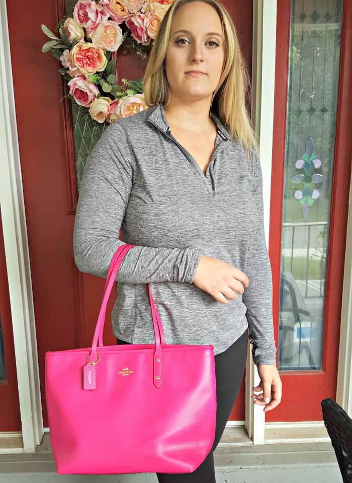 Win a Hot Pink Coach Tote Open USA Ends 7/31