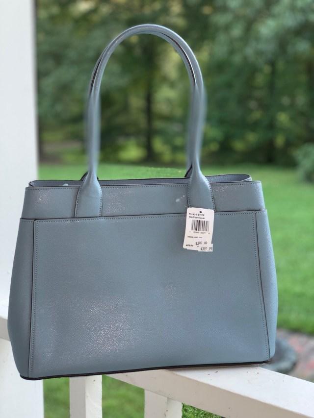 Cornflower Blue Coach Casey Tote Bag Giveaway