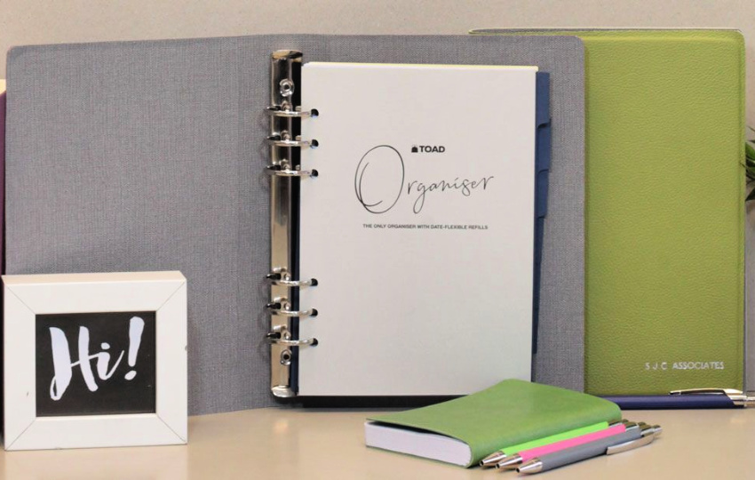 Win a Personalized Organizer from TOAD Diaries