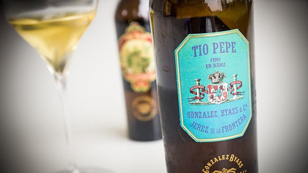 Tio Pepe En Rama 2014. Image from Sherrynotes.