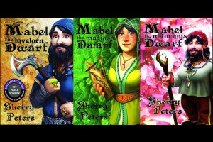 Covers of Mabel the Lovelorn, Mafioso, and Notorious Dwarf